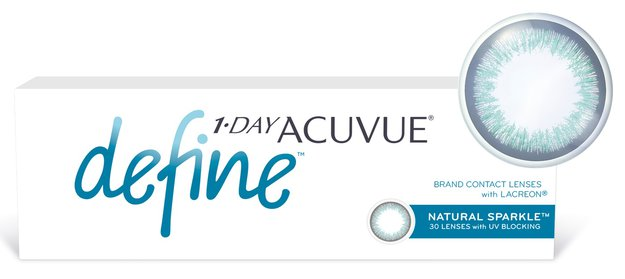 1-Day Acuvue Define Sparkle, 30 шт.