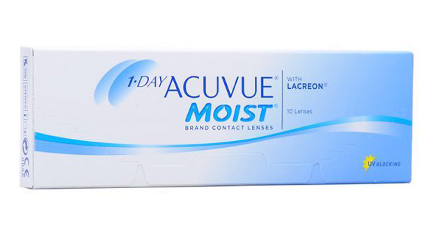 1-Day Acuvue Moist, 10 шт.