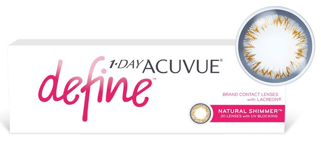 1-Day Acuvue Define Shimmer, 30 шт.