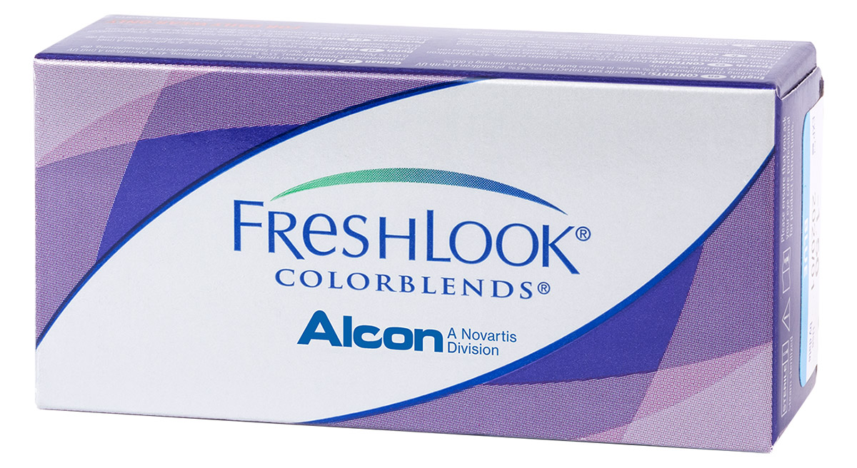 FreshLook ColorBlends Plano, 2 шт.
