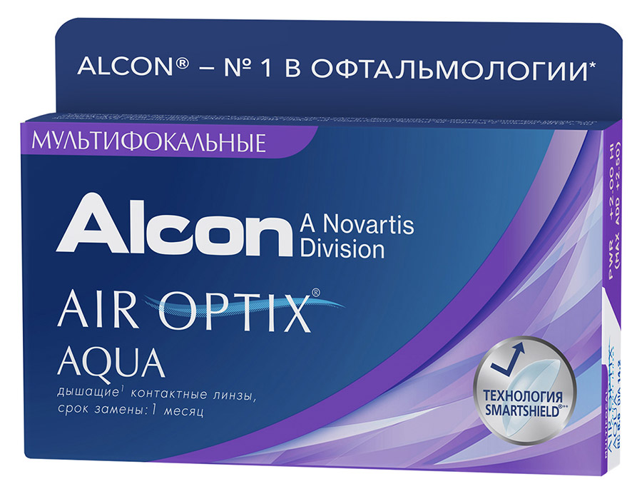 Air Optix Aqua MultiFocal, 3 шт.