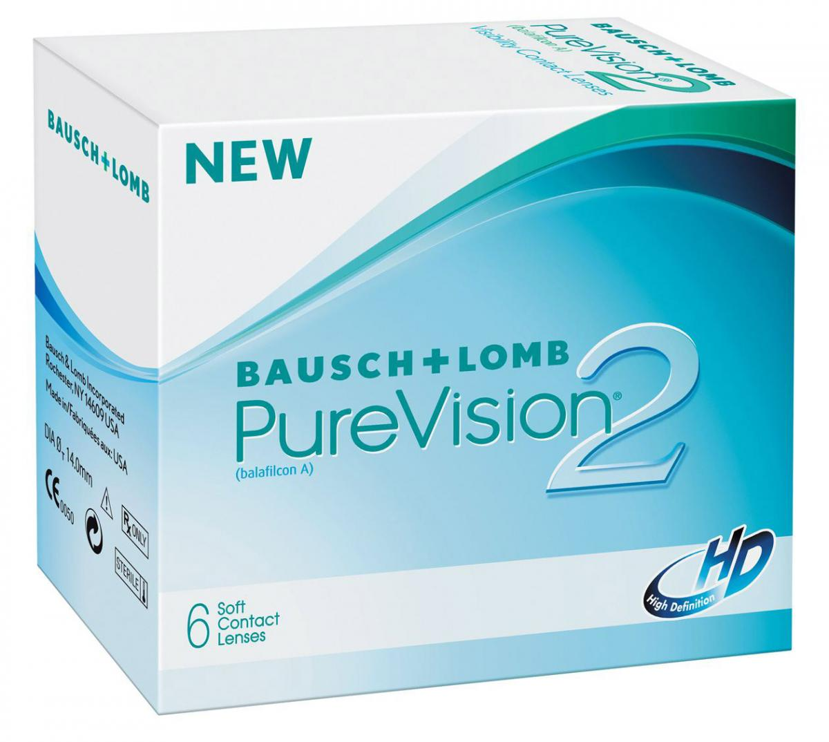 Pure Vision 2HD, 6шт.