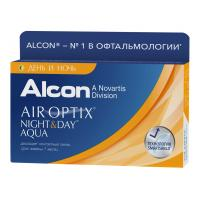 Air Optix Night & Day Aqua, 3 шт.
